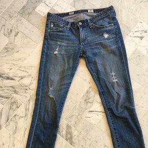 AG Stilt cigarette leg jeans-26R